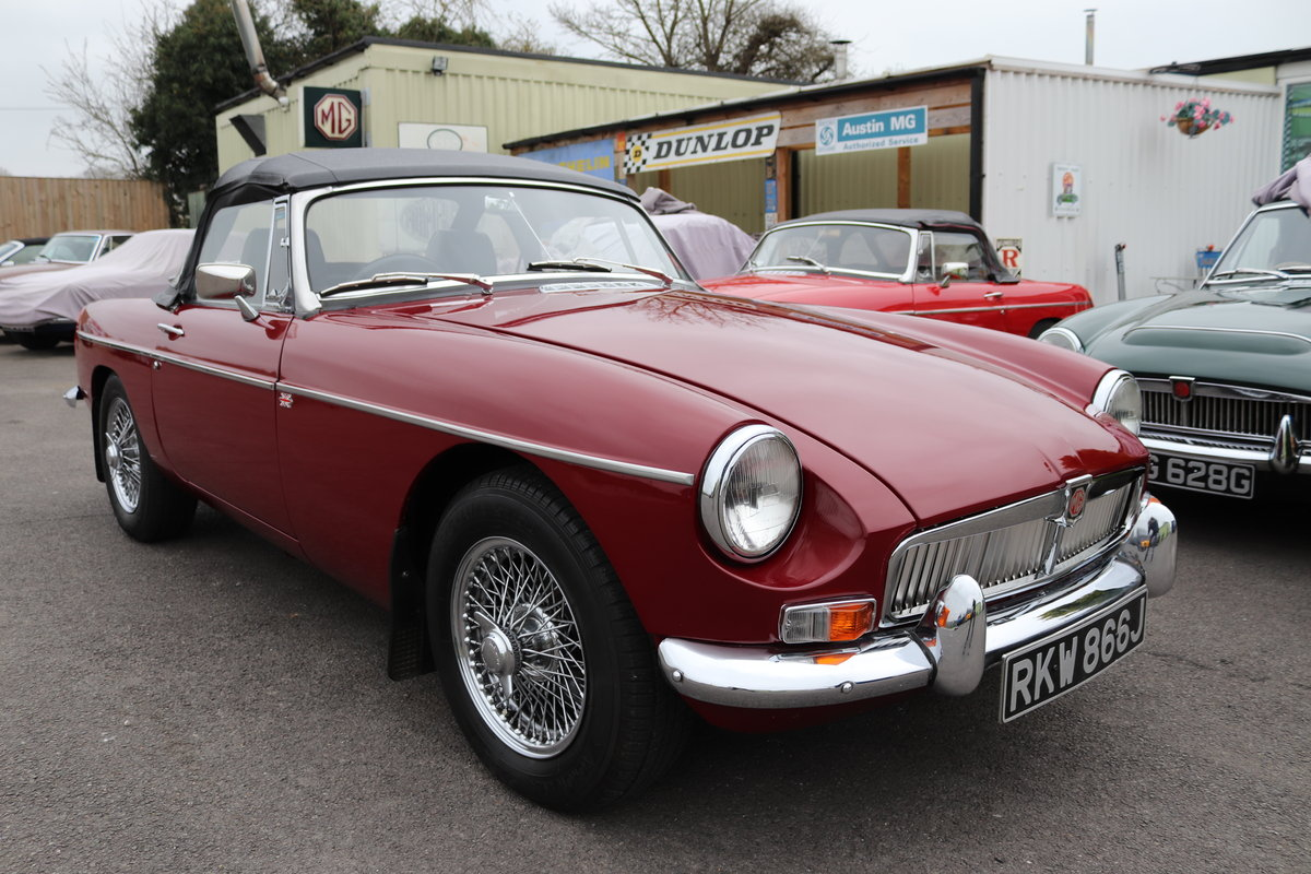1971 MGB HERITAGE SHELL in Damask SOLD (picture 1 of 6)