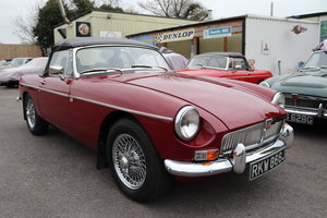 1971 MGB HERITAGE SHELL in Damask SOLD