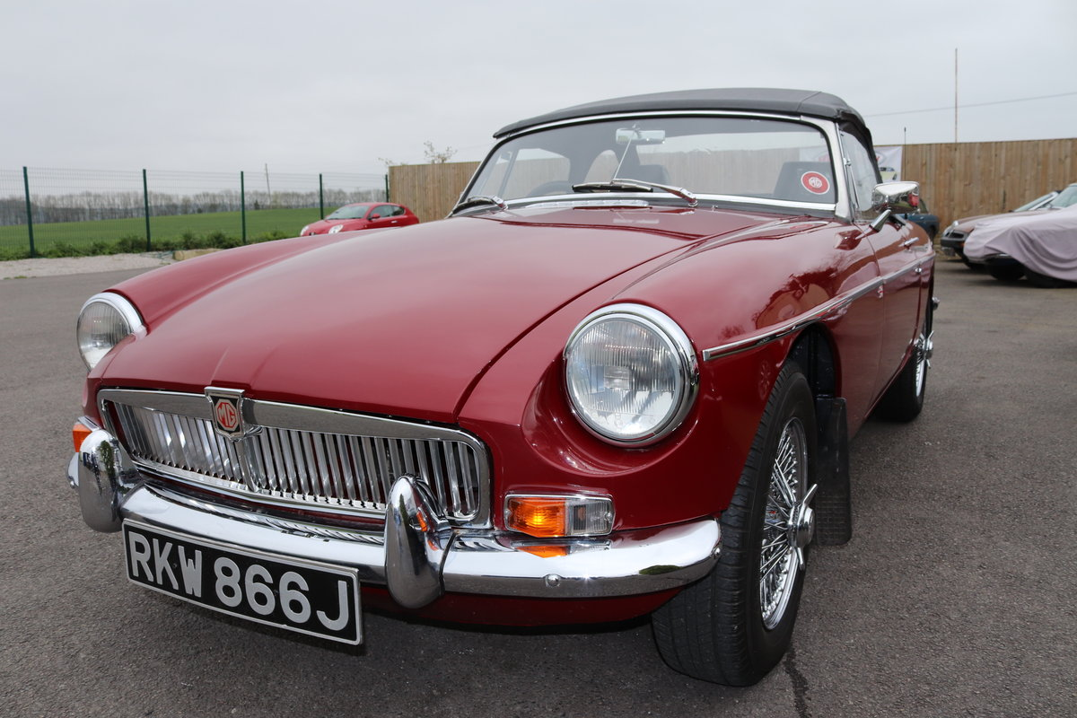 1971 MGB HERITAGE SHELL in Damask SOLD (picture 2 of 6)