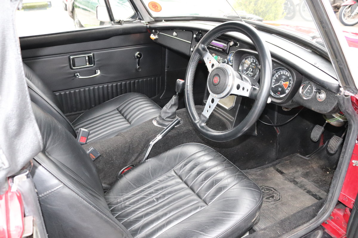 1971 MGB HERITAGE SHELL in Damask SOLD (picture 3 of 6)