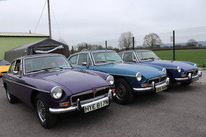1974 FACTORY MGB GT V8 ,5 IN STOCK For Sale