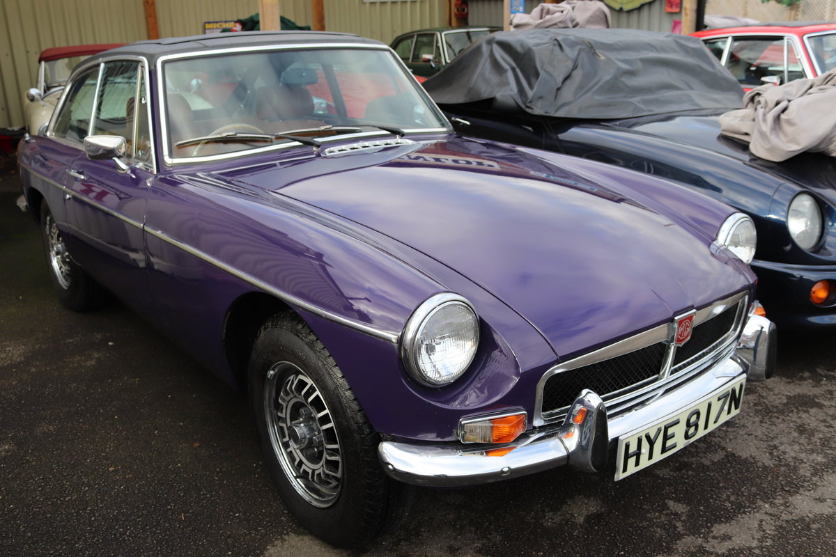 1974 FACTORY MGB GT V8 ,5 IN STOCK For Sale (picture 3 of 5)