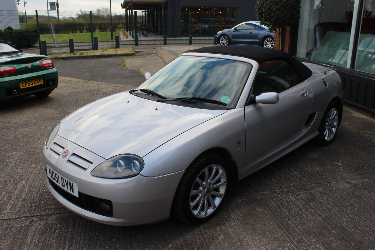 2002 MG TF 160,TT EXHAUST,REMAP,GLASS WINDOW,49000 MILES,RAC SOLD (picture 2 of 6)