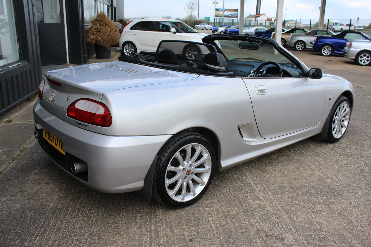 2002 MG TF 160,TT EXHAUST,REMAP,GLASS WINDOW,49000 MILES,RAC SOLD (picture 4 of 6)
