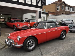 1972 MGB Roadster - Overdrive For Sale