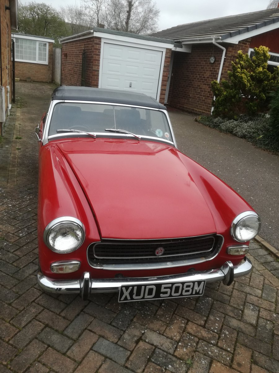 1973 MkIII RWA MG Midget, 1275 cc For Sale (picture 1 of 6)