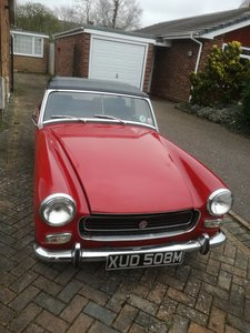1973 MkIII RWA MG Midget, 1275 cc For Sale