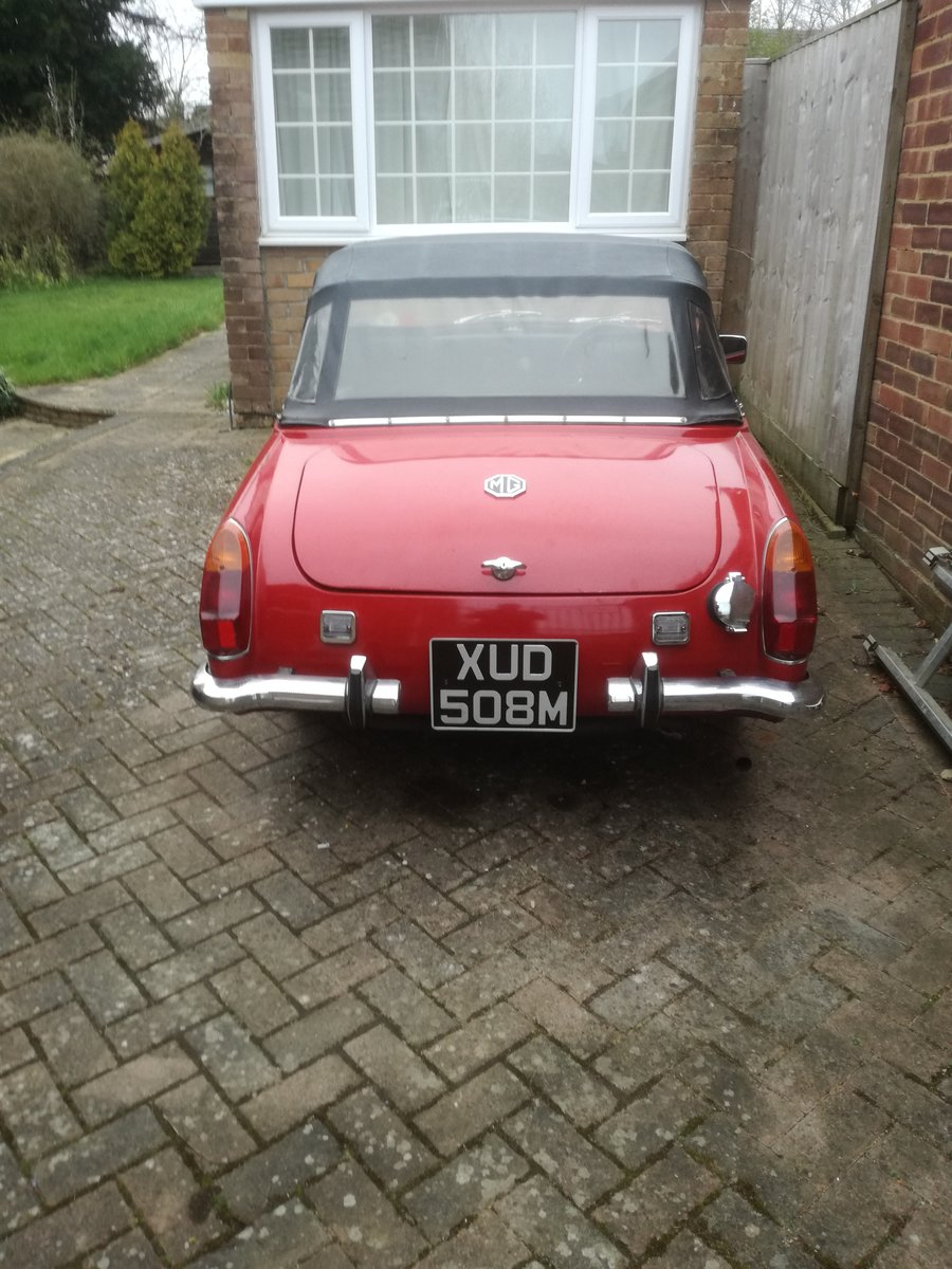 1973 MkIII RWA MG Midget, 1275 cc For Sale (picture 3 of 6)