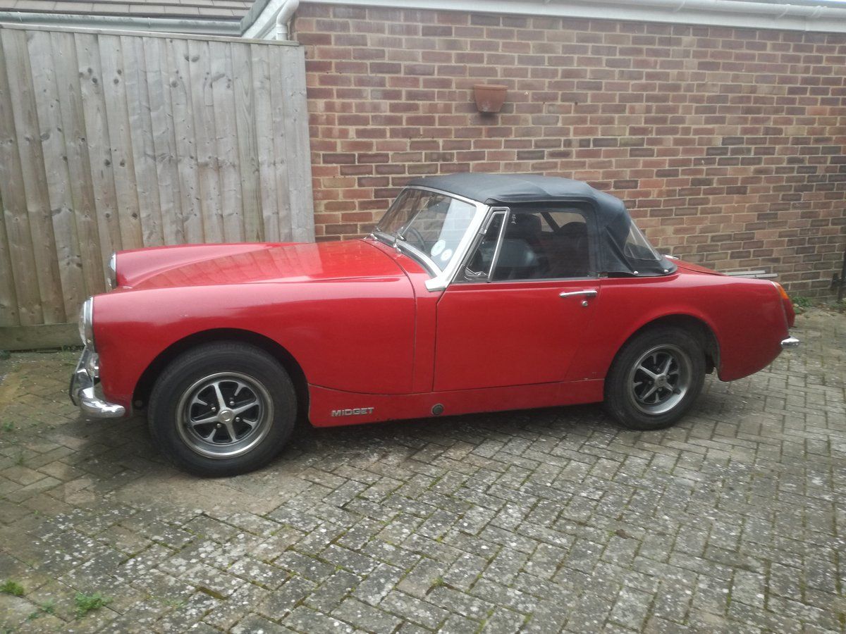 1973 MkIII RWA MG Midget, 1275 cc For Sale (picture 4 of 6)