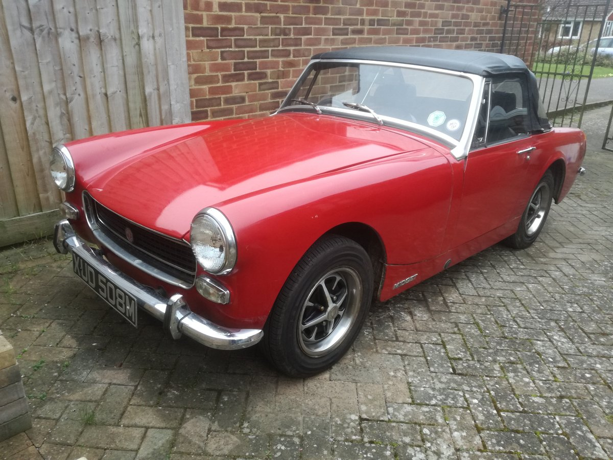 1973 MkIII RWA MG Midget, 1275 cc For Sale (picture 5 of 6)