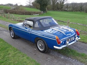1970 Lovely original MGB Roadster, overdrive, last owner 20 years For Sale