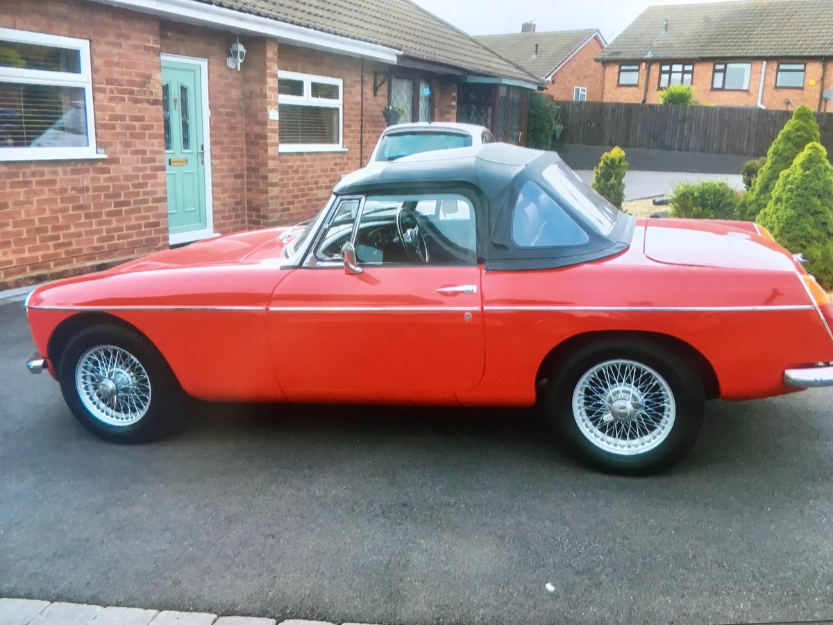 MGB Roadster 1963 For Sale (picture 2 of 6)