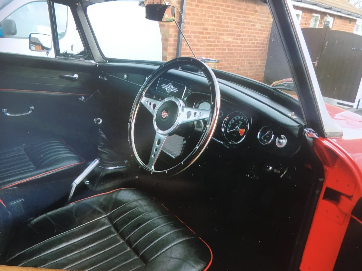 MGB Roadster 1963 For Sale (picture 5 of 6)