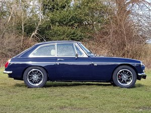 MG B GT V8, 1975, Midnight Blue