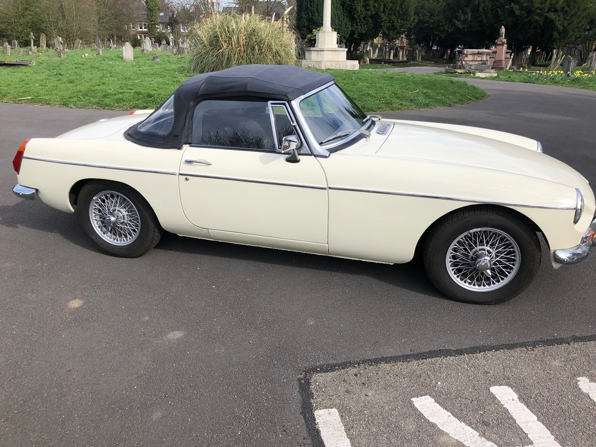 MGB Roadster 1970 For Sale (picture 1 of 6)
