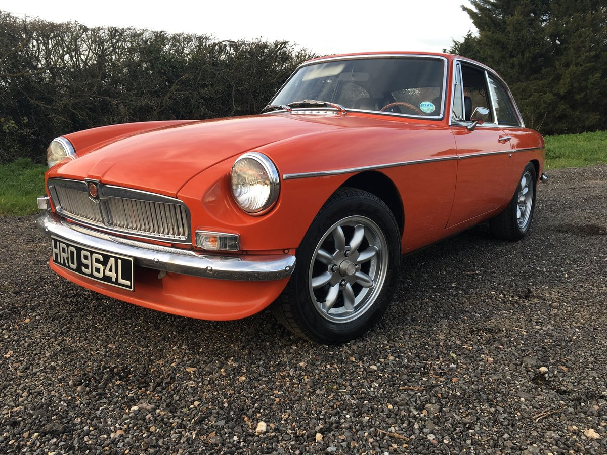 1972 LHD MG BGT - Chrome Bumper - Delivery Possible SOLD (picture 3 of 6)