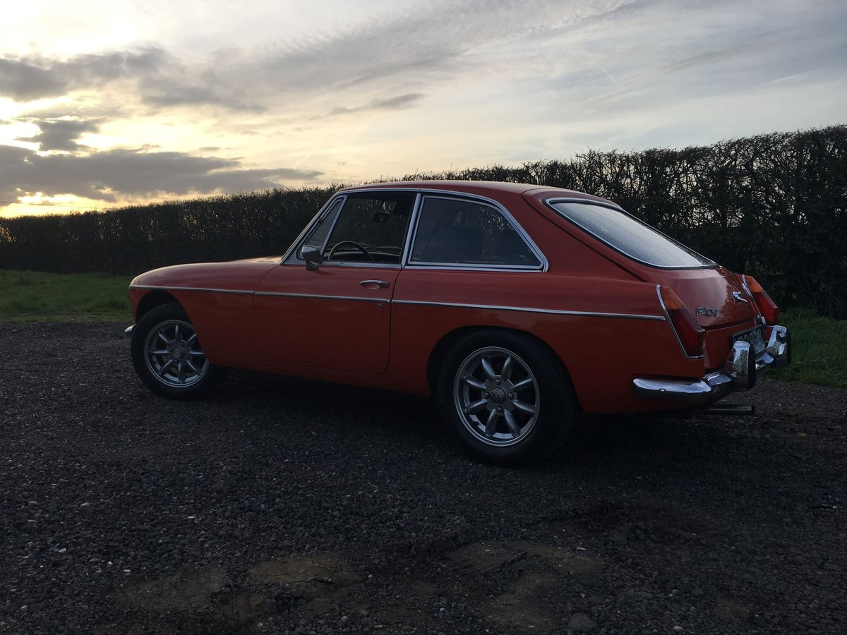 1972 LHD MG BGT - Chrome Bumper - Delivery Possible SOLD (picture 6 of 6)