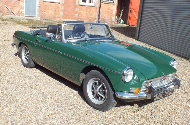 1972 A really very good MGB in almost as new condition For Sale (picture 1 of 6)