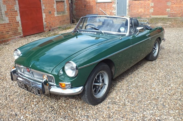 1972 A really very good MGB in almost as new condition For Sale (picture 2 of 6)