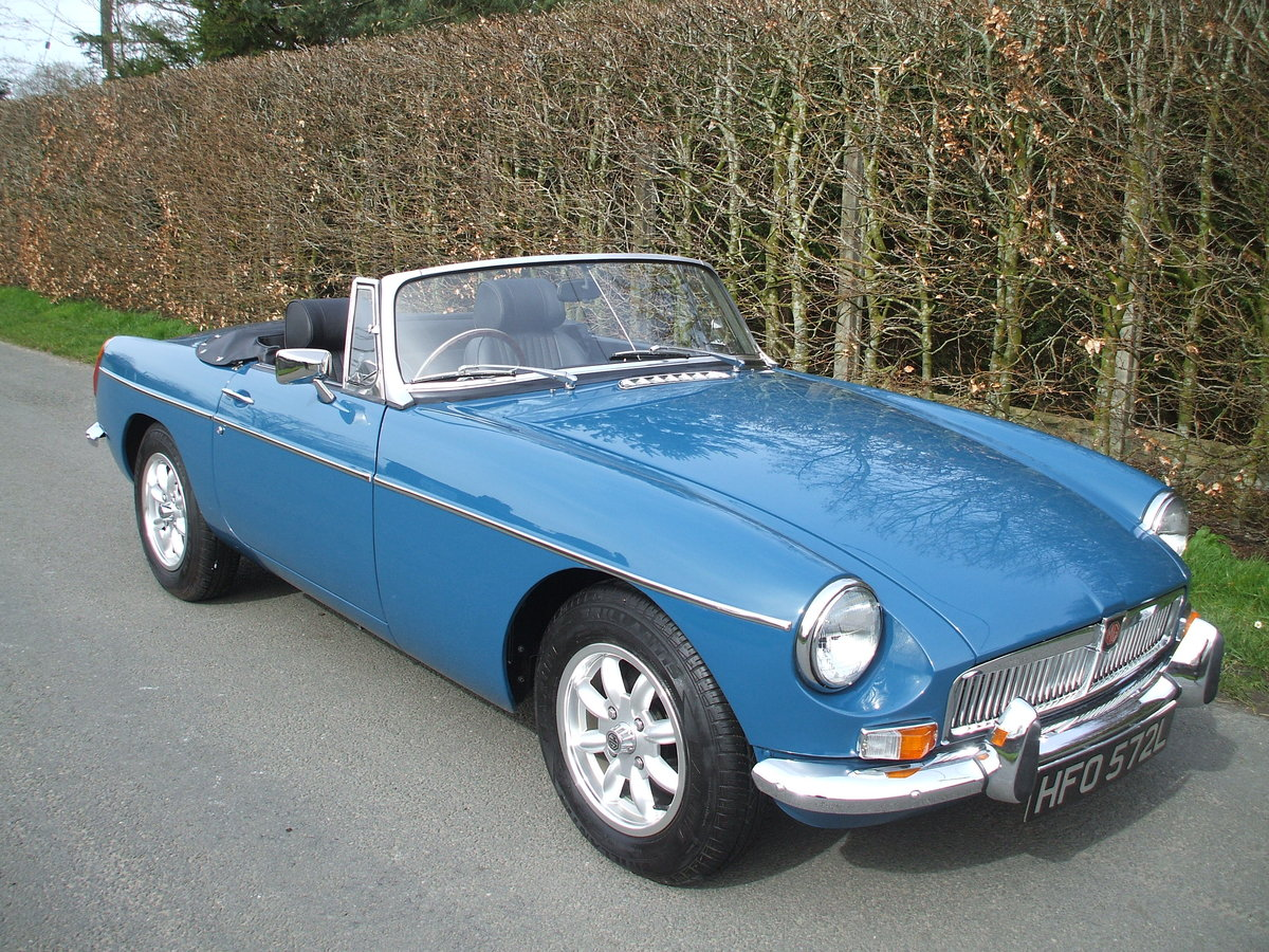 1973 MGB Roadster For Sale SOLD (picture 1 of 6)