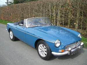 1973 MGB Roadster For Sale SOLD
