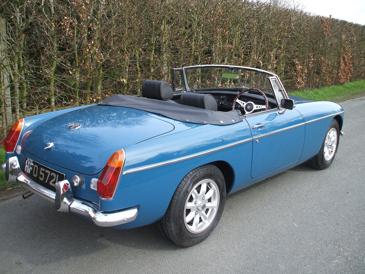 1973 MGB Roadster For Sale SOLD (picture 6 of 6)