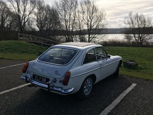 1974 MGBGT with Overdrive  SOLD