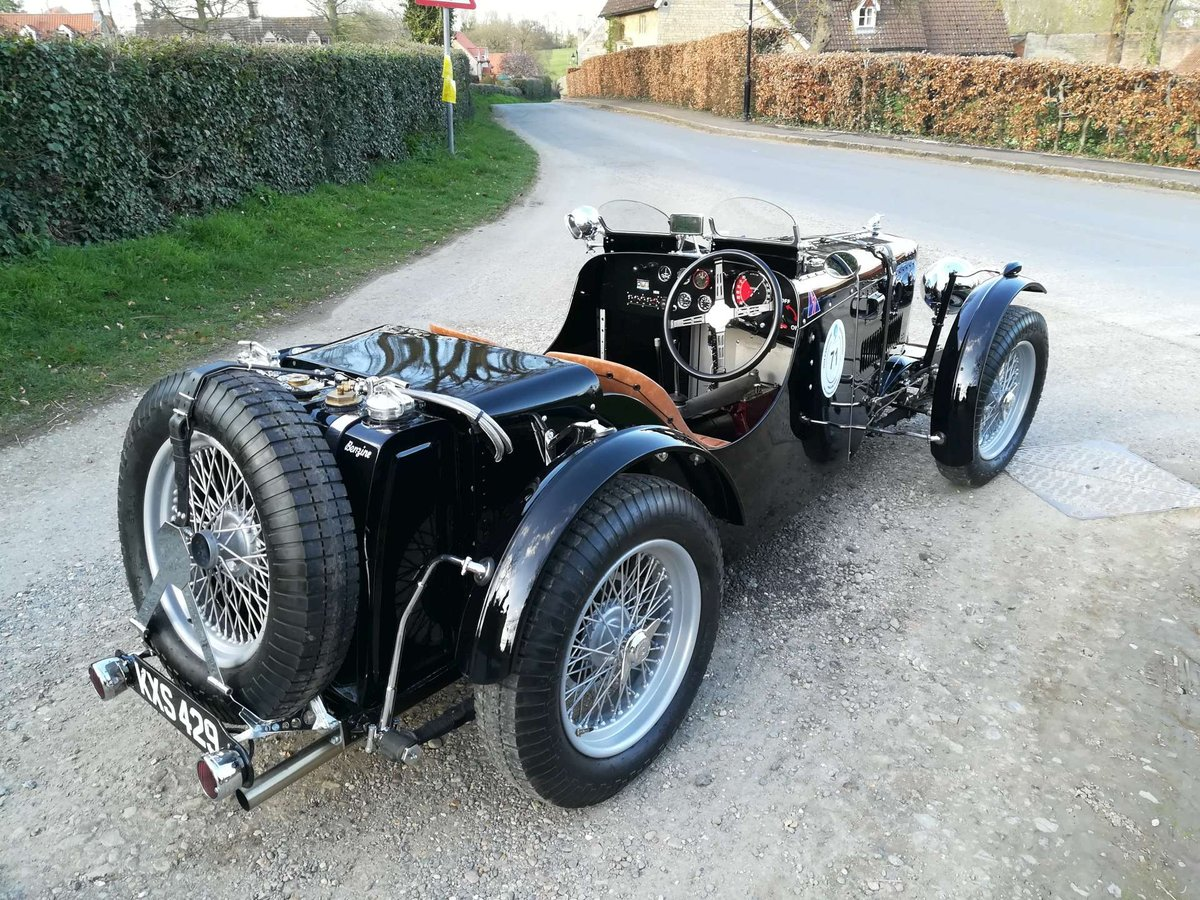 MG TB 1939 K3 Body FIVA Papers Mille Miglia SOLD (picture 5 of 6)