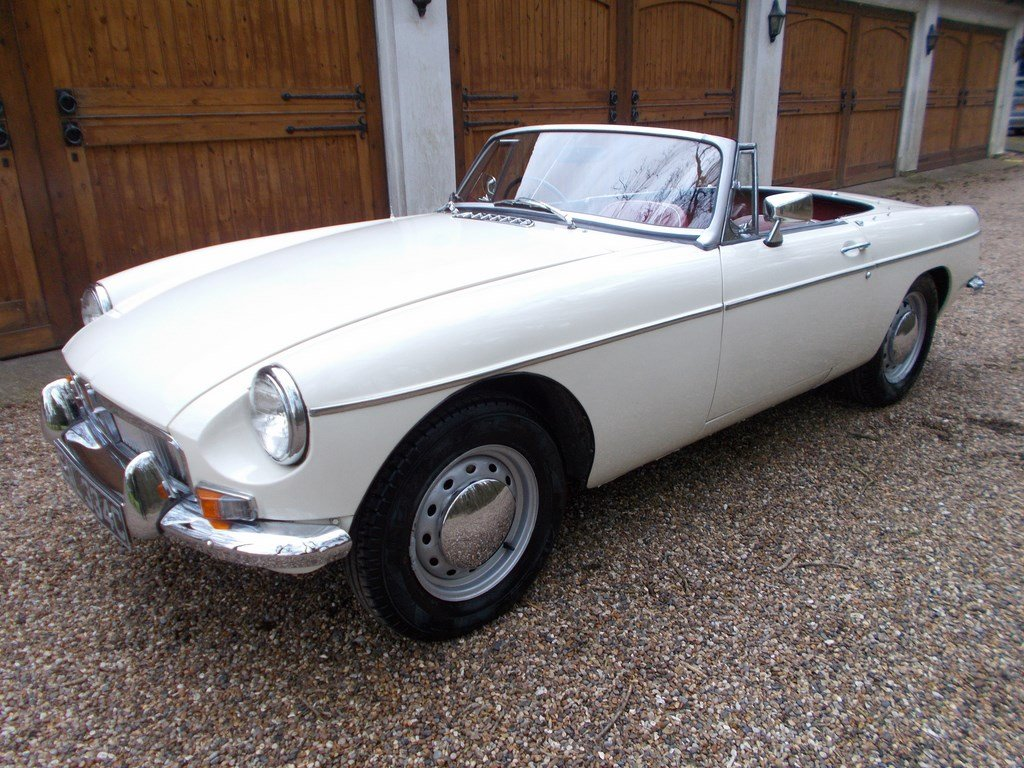 1965 MGB Roadster Rebuilt on Heritage Shell  SOLD (picture 2 of 6)