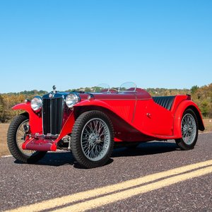 1938 MG TA Roadster = RHD Red Restored Rare  $44.5k