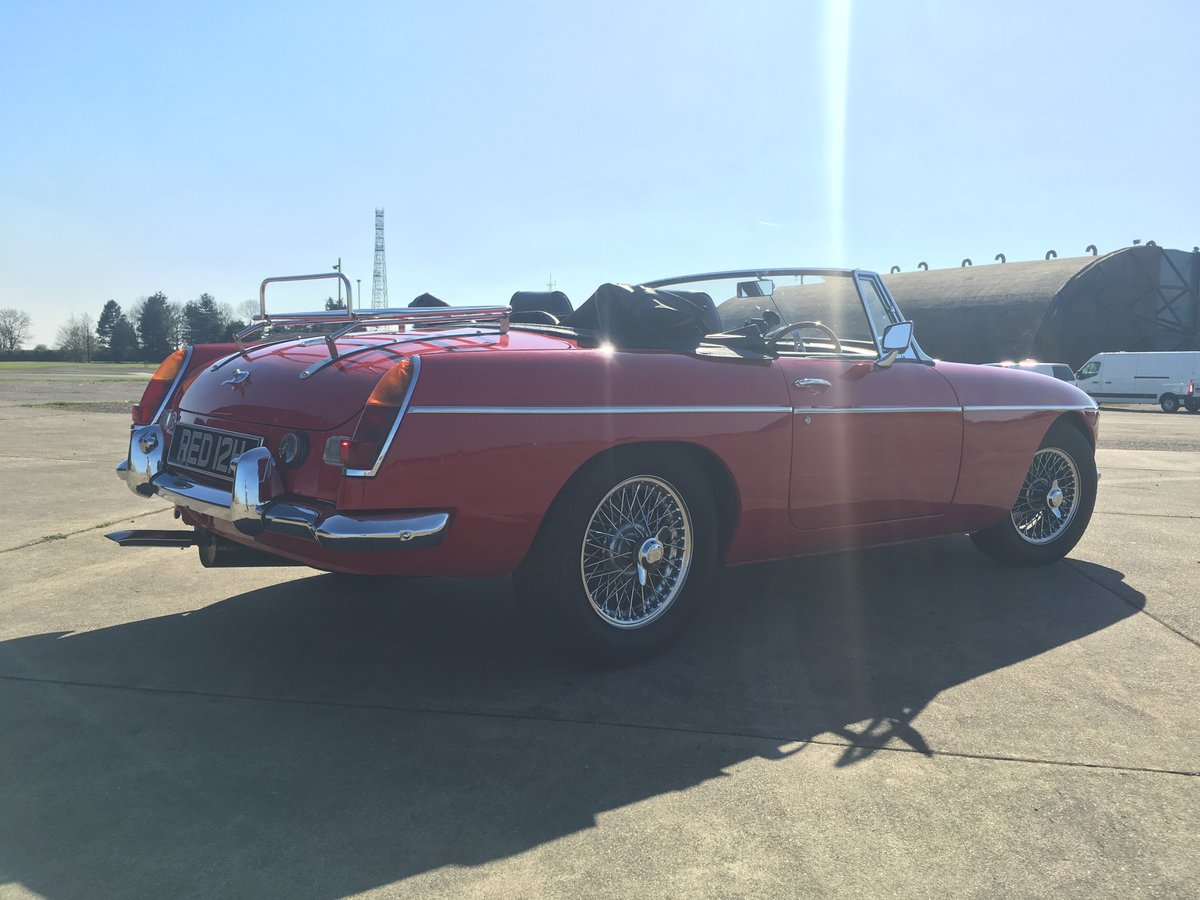 MGB Roadster 1969  For Sale (picture 6 of 6)
