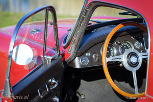 1959 Nice wooden steering wheel for MGA For Sale