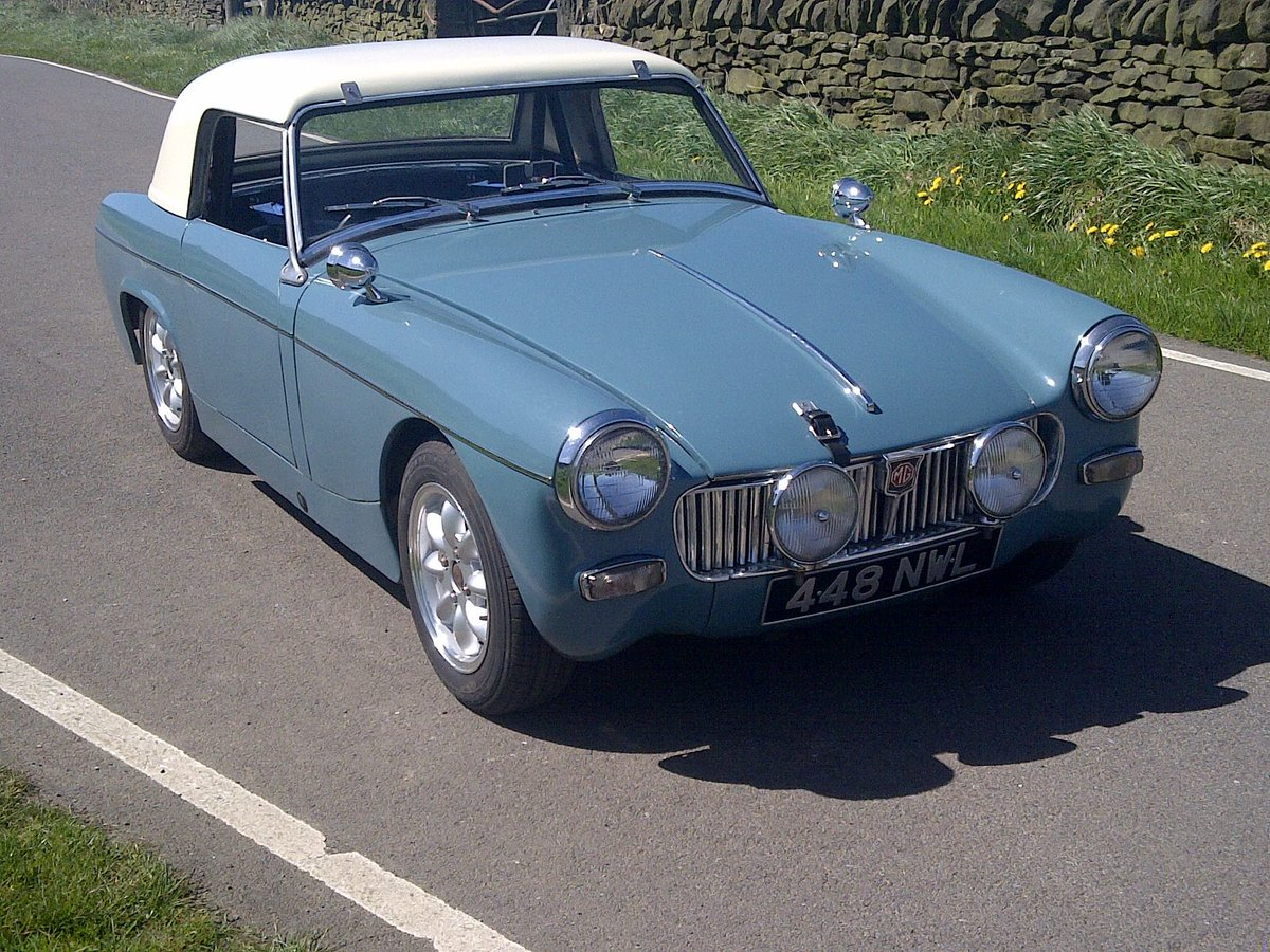 MG Midget 1962 Mk1 948cc For Sale (picture 2 of 6)
