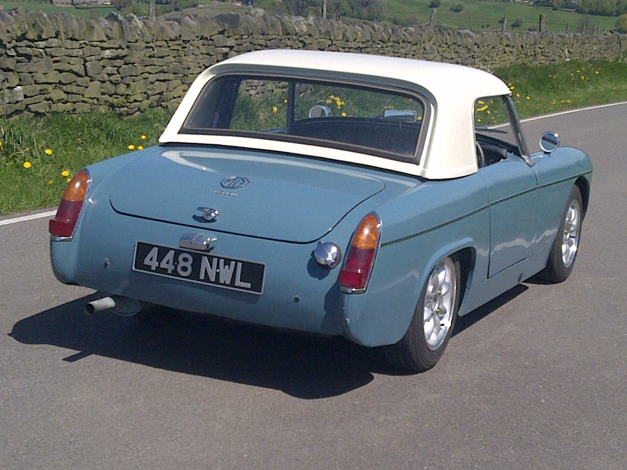 MG Midget 1962 Mk1 948cc For Sale (picture 3 of 6)
