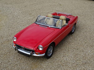 MGB Roadster – Heritage Shell/Fast Road Spec.