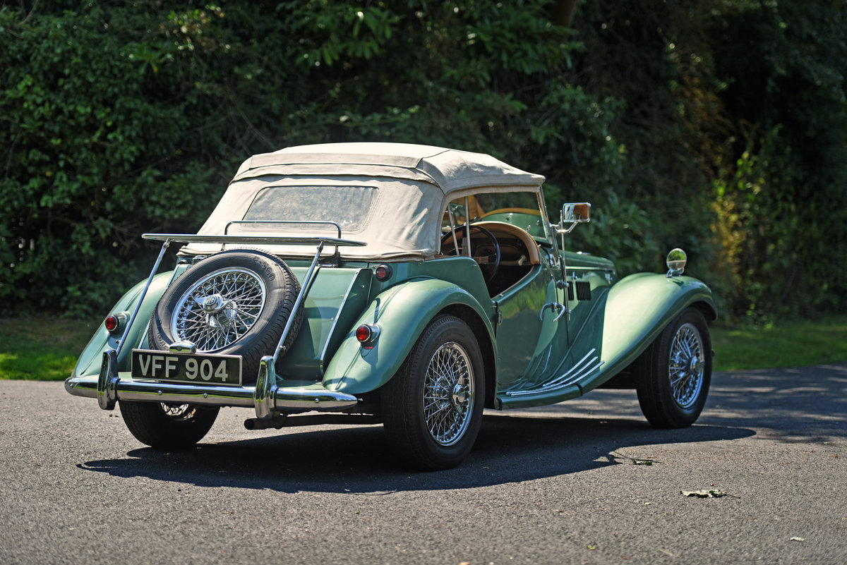 1954 Vintage MG TF Roadster For Sale (picture 3 of 6)