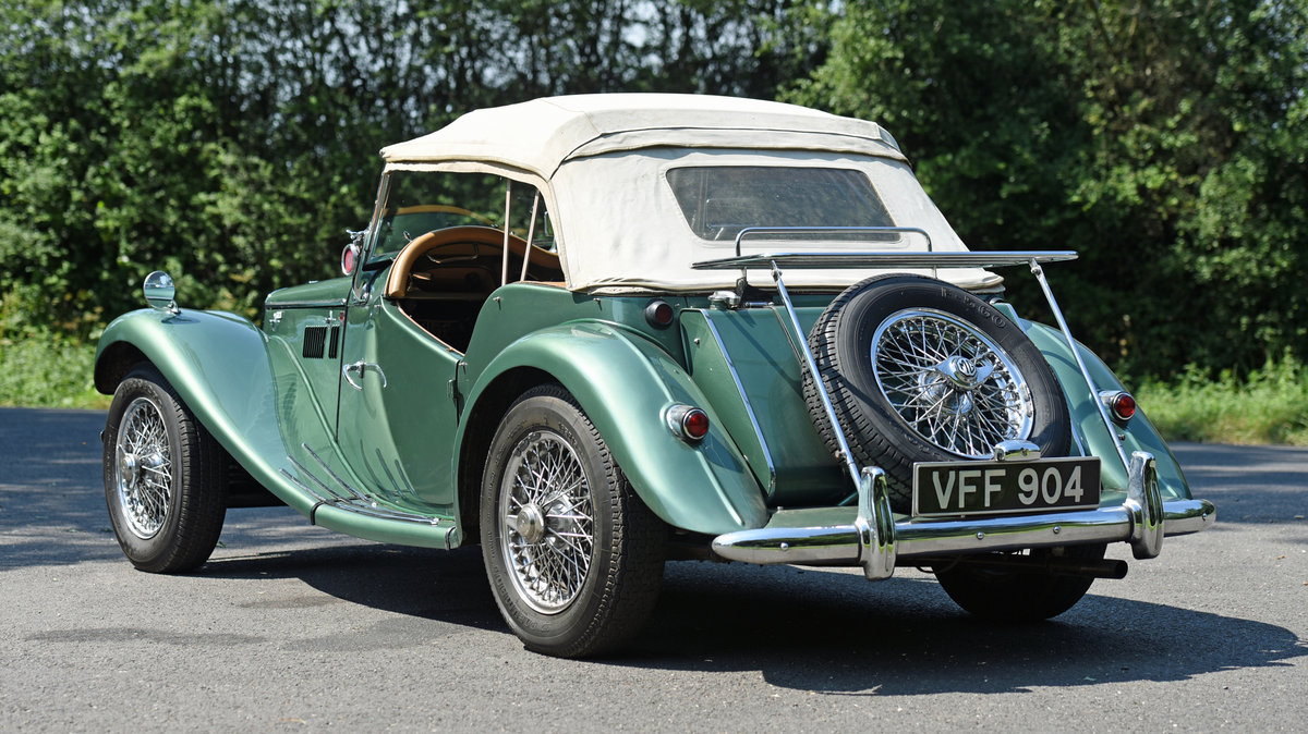 1954 Vintage MG TF Roadster For Sale (picture 4 of 6)