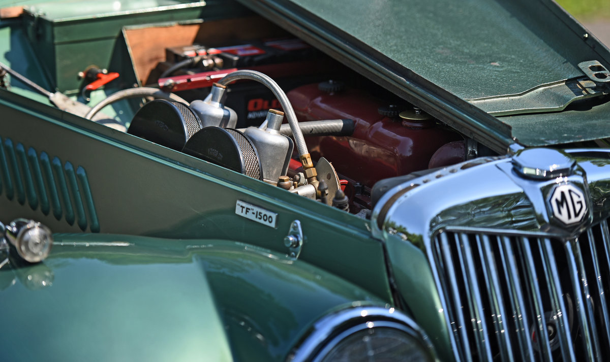 1954 Vintage MG TF Roadster For Sale (picture 6 of 6)