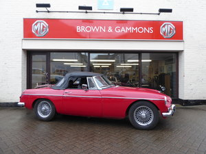 MGB ROADSTER, 1965, RED For Sale