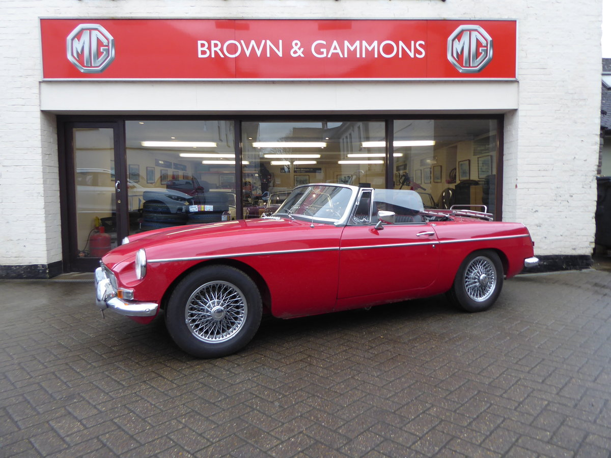 MGB ROADSTER, 1965, RED For Sale (picture 5 of 6)