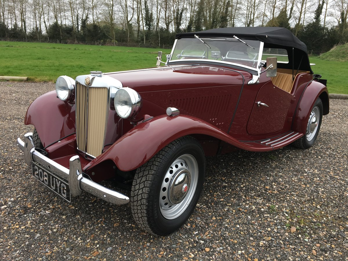 1952 MG TD - truly stunning SOLD (picture 1 of 6)