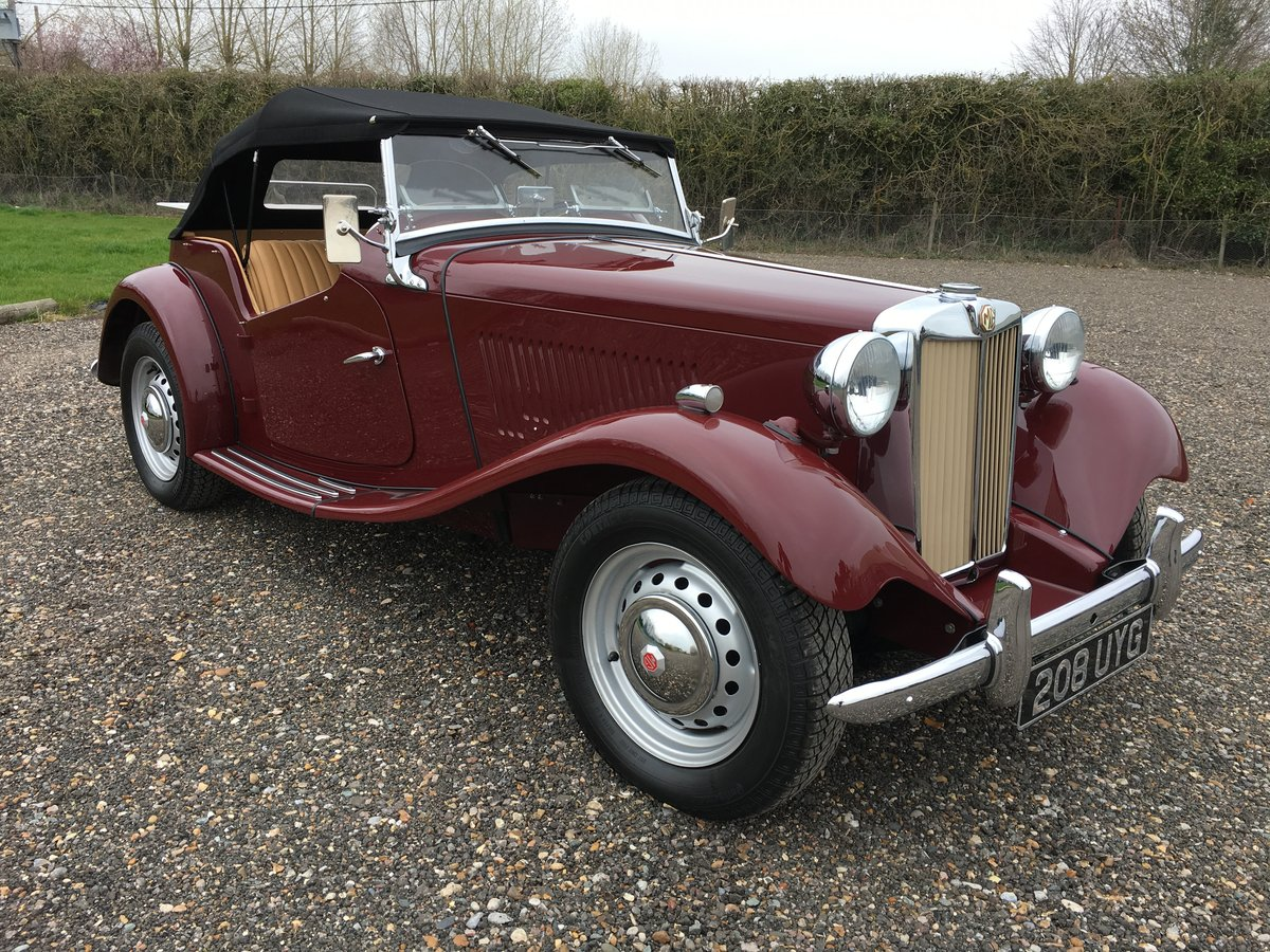 1952 MG TD - truly stunning SOLD (picture 2 of 6)