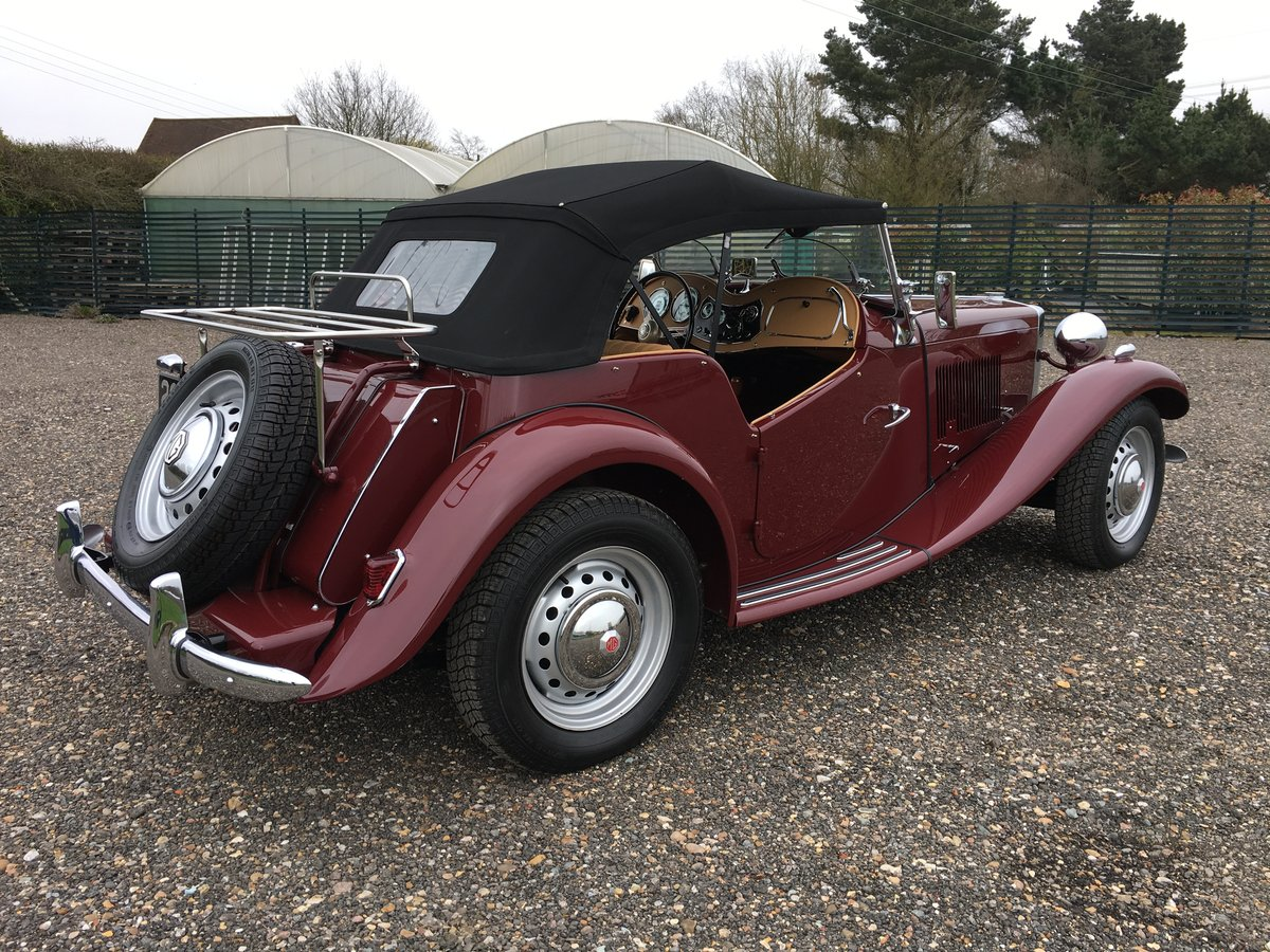1952 MG TD - truly stunning SOLD (picture 3 of 6)