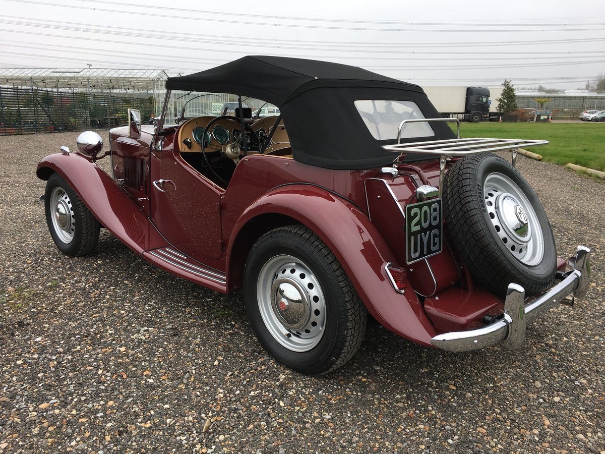 1952 MG TD - truly stunning SOLD (picture 4 of 6)