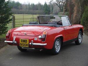 1970 MG Midget MkIII - Heritage Shelled Stunner! For Sale