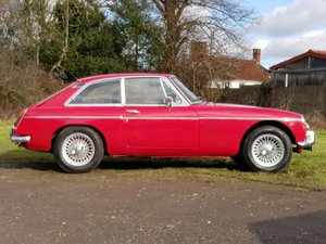 MG B GT Mk1, 1966, Tartan Red SOLD