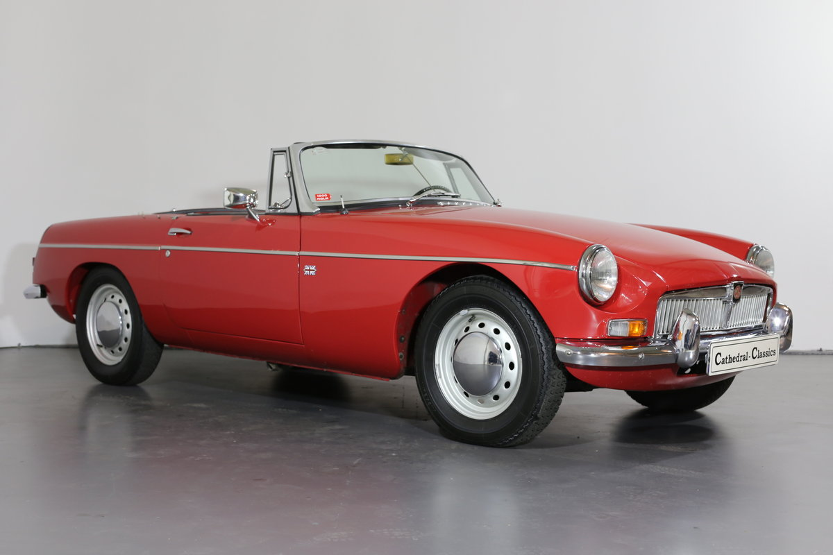 1967  MK1 LHD MG B Roadster - pull handle model- with a secret! SOLD (picture 2 of 6)