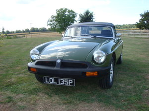 1976 MGB Roadster   NOW SOLD For Sale