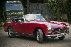 1974 MG Midget - 23,000 mls - Totally Original - on The Market SOLD by Auction