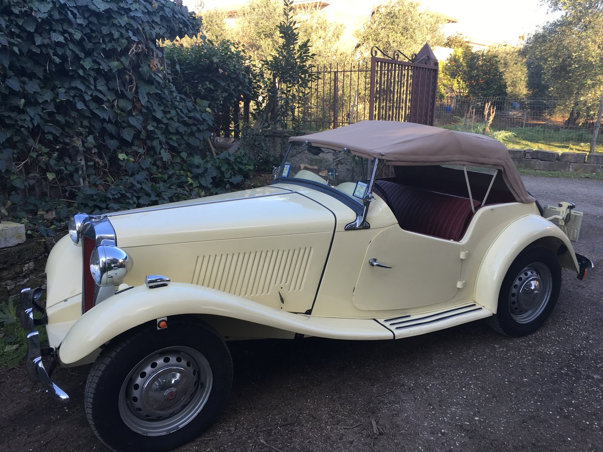 1951 mg td total and professional restoration For Sale (picture 1 of 6)